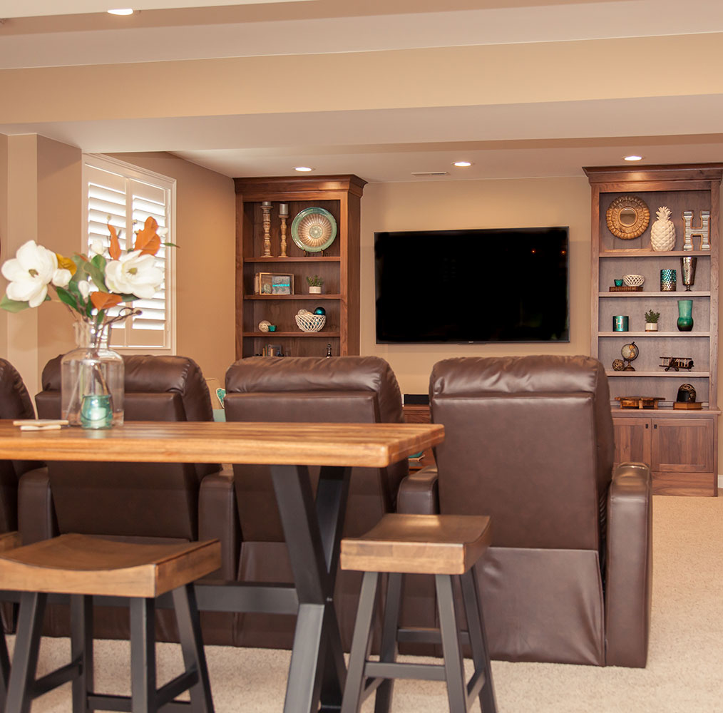 Basement Remodeling & Renovations